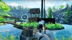 VRコンテンツ弓矢